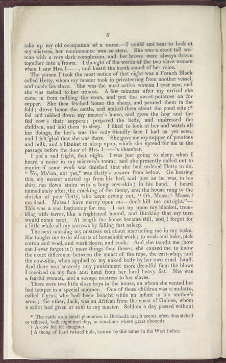 The History of Mary Prince, A West Indian Slave -Page 6